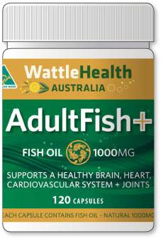 Adult Fish – Fish Oil
