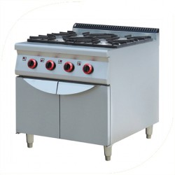 Gas Stove with cabinet