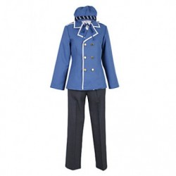 alicestyless.com Persona Shirogane Naoto Blue Uniform Cosplay Costume