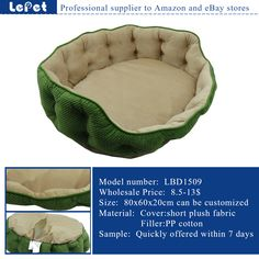 luxury dog bed pet sofa cozy washable large pet dog bed wholesale supplier manufacturer