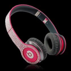 Beats By Dre Solo HD Red Diamond Red Over Ear Headphones VheU4FH