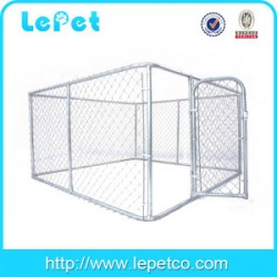 Manufacturer classic galvanized outdoor dog kennel/10x10x6ft dog kennel