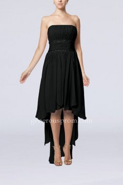 Simple Strapless High Low Little Black Dresses Cheap – $146.00 : Prom Dresses | Generous D ...