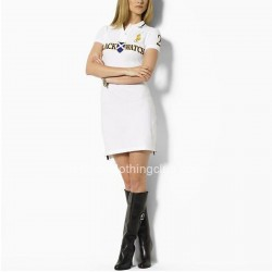 Hot Sale Ralph Lauren Womens White Cotton Mesh Polo Dress [Ralph Lauren Polo Dresses] – $5 ...