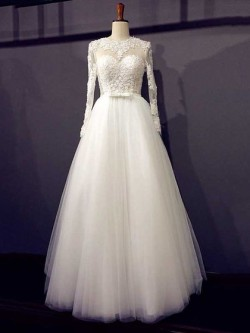 Beautiful A line Wedding Dresses, A-line Dresses – dressfashion.co.uk