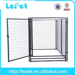 High quality large outdoor metal welded wire dog kennel