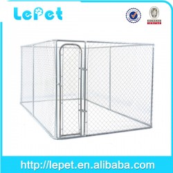 Hot sale outdoor large galvanized dog kennel wholesale