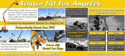 Scissor Lift Los Angeles