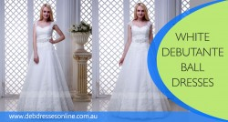 White Debutante Ball Dresses