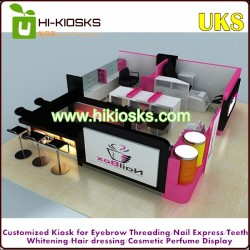 Fashional newest nail beauty kiosk
