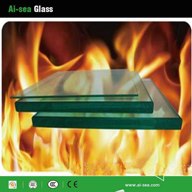 Fire-proof glass