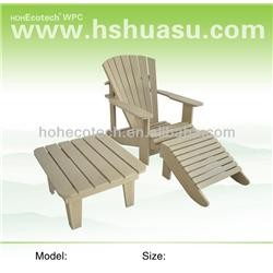 WPC chair & table