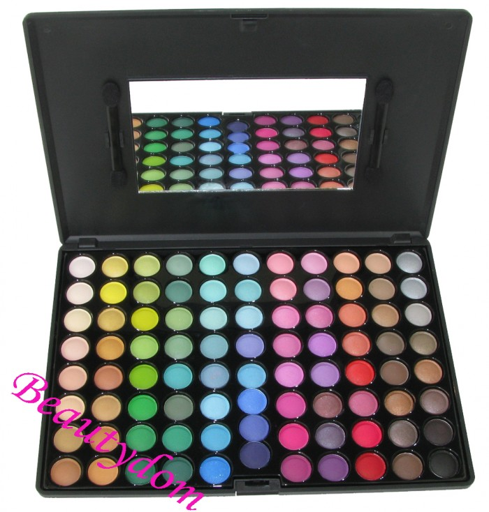 Beautydom PRO eyeshadow, professional eyeshadow palette