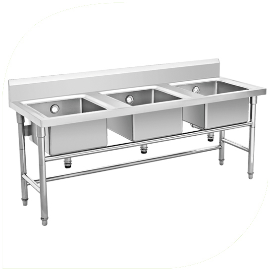 Commercial Equipment Stainless Steel Sink