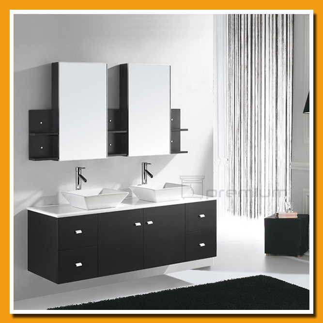 modern black bathroom furniture