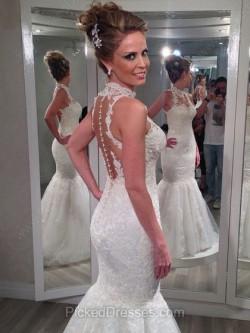 Best Mermaid Wedding Dresses Canada Online | Pickeddresses