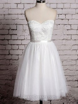 Short Wedding Dresses | Cheap Wedding Dresses Canada | Pickeddresses