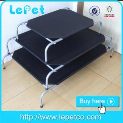 Hot sale outdoor durable metal frame elevated dog bed