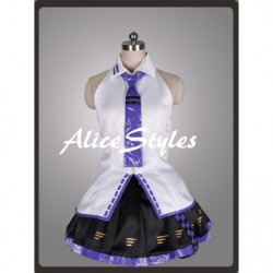 Alicestyless.com Hatsune Miku Project DIVA Teto Purple Cosplay Costume