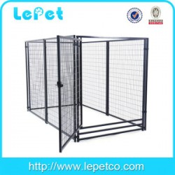 5x10x6 foot classic galvanized outdoor dog kennel
