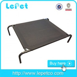 Large metal frame Elevated Portable Pet Sleeping Camping Cot Dog Bed