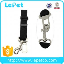 Nylon material aliuminium alloy Dog car seatbelt manufacturer wholesale