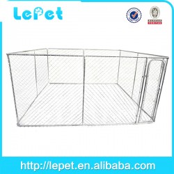 Pet supplier large outdoor metal dog enclosure wholesale