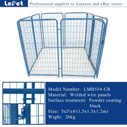 New designed metal portable dog kennel wholesale