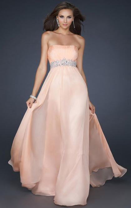 Online Long Pearl Pink Tailor Made Evening Prom Dress (LFNAF0006) cheap online-MarieProm UK