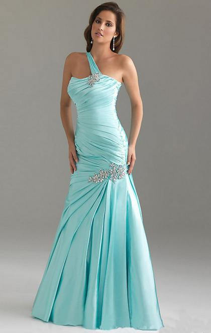 Online Long Sky Blue Tailor Made Evening Prom Dress (LFNAF0099) cheap online-MarieProm UK