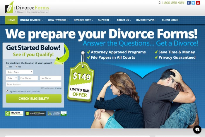 get a divorce online Newark NJ