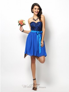Buy Cheap Lace Bridesmaid Dresses with Sleeves Online for Girls