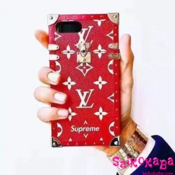 lv supreme iphone8 7 6 case