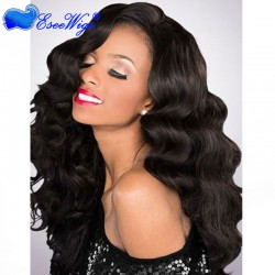 Malaysian Virgin Hair Full Lace Wigs Body Wave
