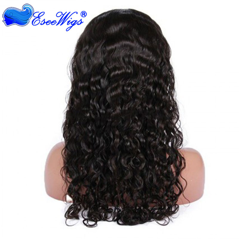 Indian Remy Hair Full Lace Wigs Peruvian Curl Style