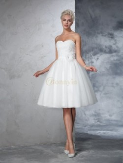 Short Wedding Dresses, 2017 Knee-Length Bridal Gowns for Sale – Bonnyin.com