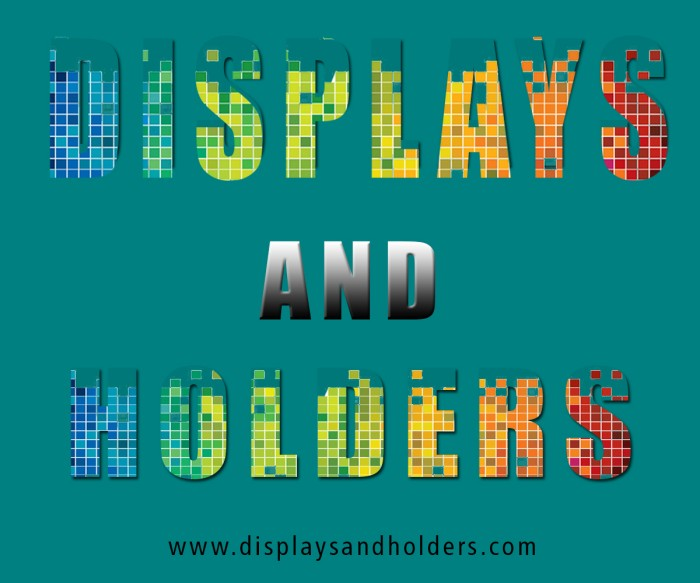 Displays And Holders