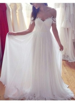 Lace Scoop Neck Sleeveless Trumpet/Mermaid Wedding Dress