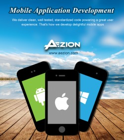 Mobile Application Development Dallas | Mobile App Developers | Aezion