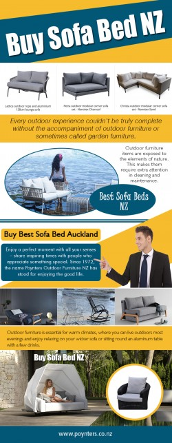 Buy Outdoor Furniture NZ