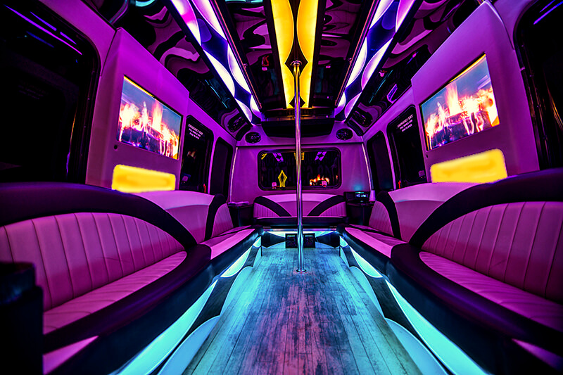 jacksonville vip party bus rental