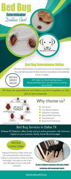 bed bug pest control dallas