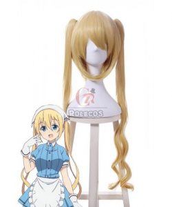 Buy Blend S Kaho Hinata Anime Gold Cosplay Wigs – RoleCosplay.com