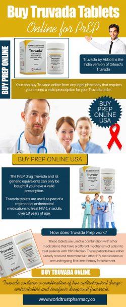 Buy Truvada Tablets Online for PrEP