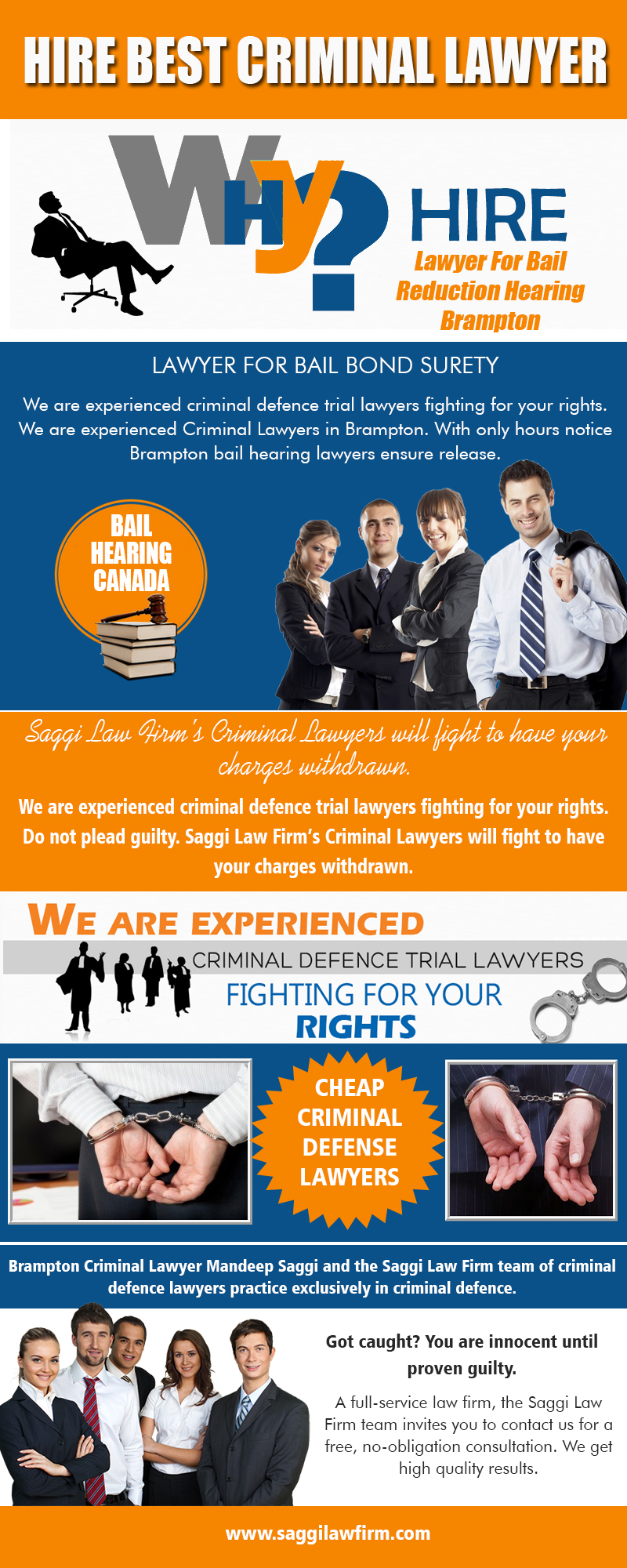 Hire Best Criminal Lawyers in Mississauga