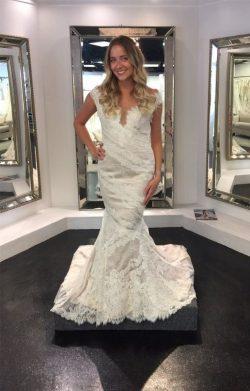 Elegante Weiße Brautkleider Günstig Meerjungfrau Hochzeitskleider Online Kaufen