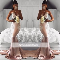 Elegante Abendkleider Lang Günstig Meerjungfrau Abiballkleider Online Kaufen