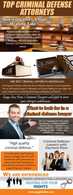 Lawyer for Bail Reduction Hearing Brampton