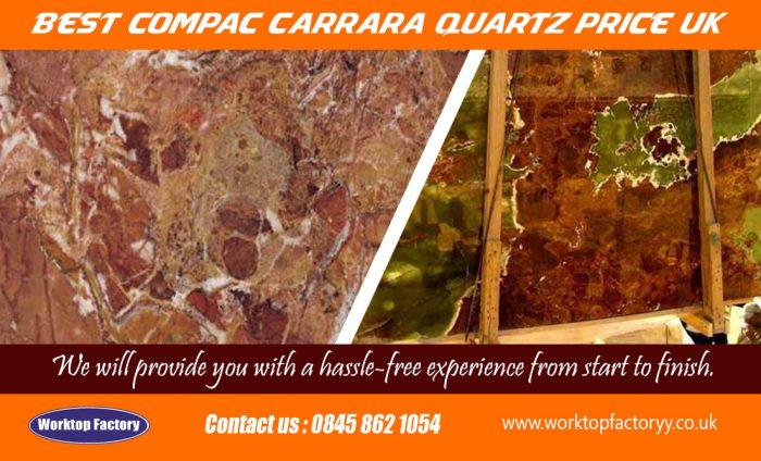 Best Compac Carrara Quartz Price UK