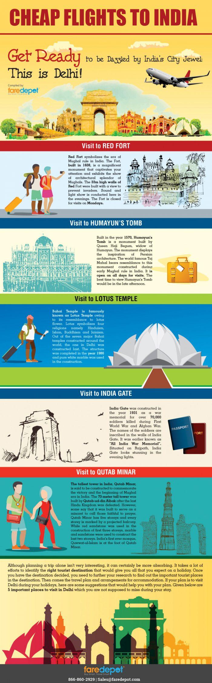 Cheap Flights to India